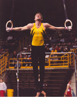 Andy Thornton - Iron Cross on Rings